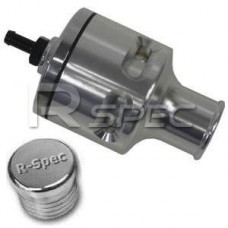 R-Spec Alloy Dump Valve Twin Piston Blow Off BOV 25mm and blanki