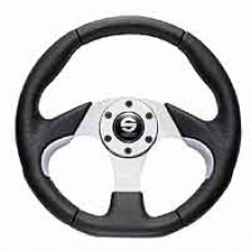 SPARCO Naxos Black/Silver Steering Wheel
