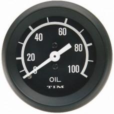 Tim Oil Pressure Gauge Capillary - Black FREE DELIVERY