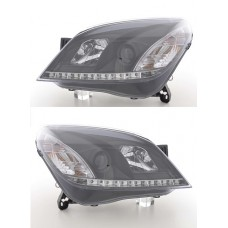 Vauxhall Astra H Mk5 2004 on Black R8 LED projector Headlights