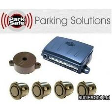 Park Safe PS540 4 Way 19mm Gloss Black Parking Reversing Sensor