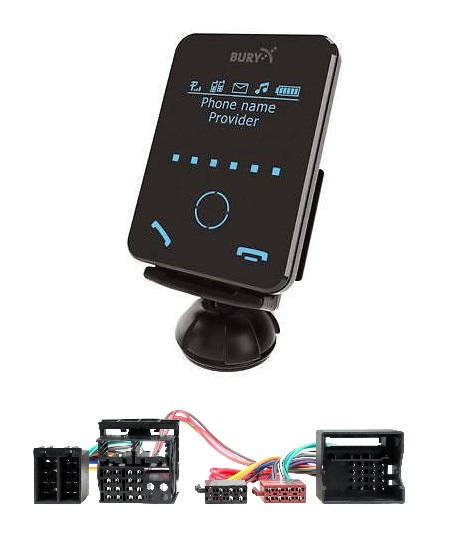 Bury Cc9058 Bmw 5 Series E60 E61 Bluetooth Handsfree Kit
