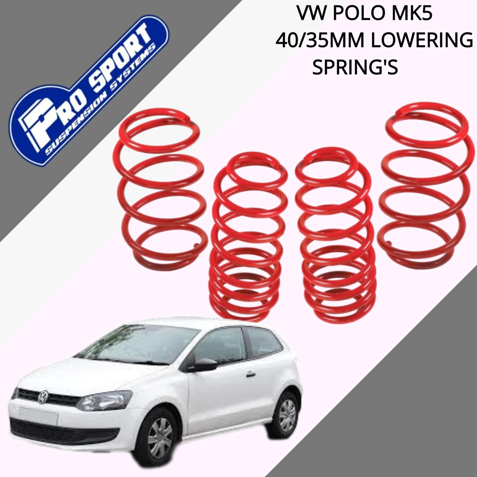 Pro Sport 35 mm Lowering Springs VW Caddy 14-120048
